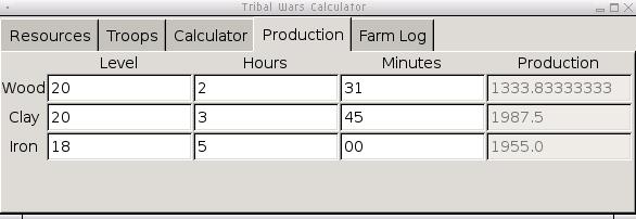 Tribal Calculator